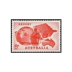 1 عدد تمبر صادرات - استرالیا 1963