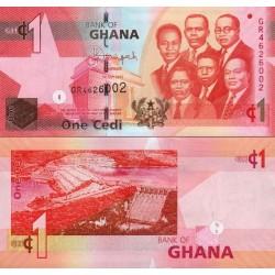 اسکناس 1 سدی - غنا 2015