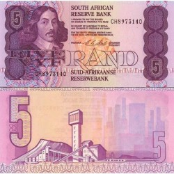 اسکناس 5 رند - آفریقای جنوبی 1994