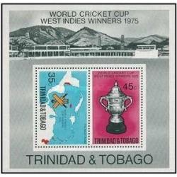 سونیرشیت مسابقات جام جهانی کریکت - ترینیداد و توباگو 1976