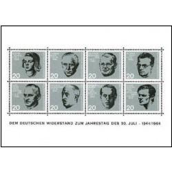 سونیرشیت 20مین سالگرد ترور هیتلر در 20 ژوئیه 1944- جمهوری فدرال آلمان 1964