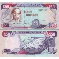اسکناس 50 دلار - جامائیکا 2009