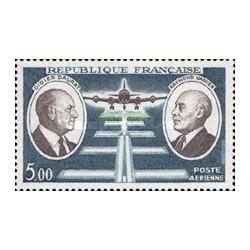 1 عدد تمبر هوانوردی - فرانسه 1971