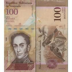 اسکناس 100 بولیوار - ونزوئلا 2013