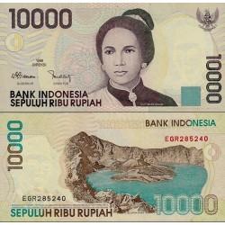 اسکناس 10000 روپیه - اندونزی 2003