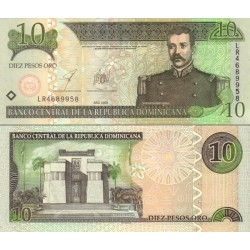 اسکناس 10 پزو - جمهوری دومنیکن 2003