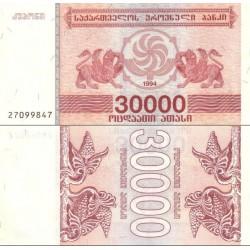 اسکناس 30000 کاپونی - گرجستان 1994
