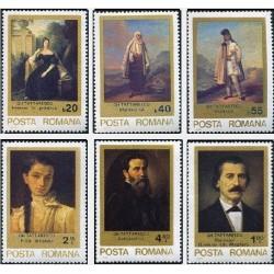6 عدد تمبر تابلوهای نقاشی اثر گئورگ تاتارسکیو - رومانی 1979