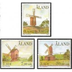 3 عدد تمبر آسیابها - نقاشی - آلاند 2001 قیمت 11.7 دلار قیمت روی تمبر 5.2 یورو