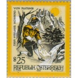 1 عدد تمبر افسانه ها و داستانها - اتریش 1998 قیمت 5.6 دلار