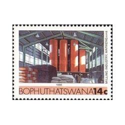 1 عدد تمبر صنایع - بوتسوانا آفریقای جنوبی 1986