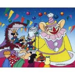 سونیرشیت تعطیلات سنتی - شخصیتهای کارتونی والت دیسنی - گرندین گرانادا 1996  قیمت 6.7 دلار