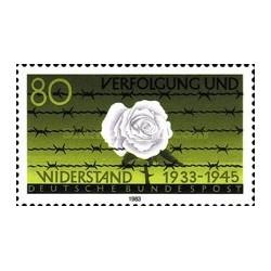 1 عدد تمبر تعقیب و  مقاومت - جمهوری فدرال آلمان 1983