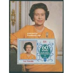 سونیرشیت تولد ملکه - توالو 1986