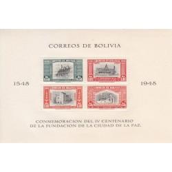 سونیرشیت 400مین سالگرد تاسیس لاپاز - 6 - پست هوائی - بولیوی 1951
