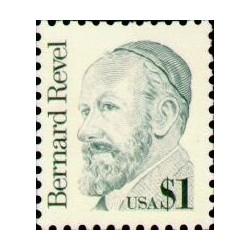 1 عدد تمبر یادبود برنارد رول - آمریکا 1986 ارزش روی تمبر یک دلار