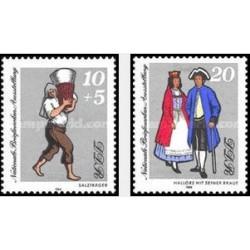 2 عدد تمبر نمایشگاه ملی تمبر هاله - جمهوری دموکراتیک آلمان 1984