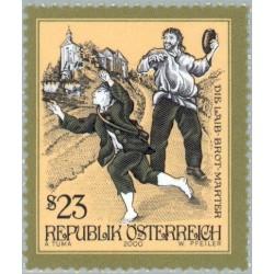 1 عدد تمبر قصه ها و افسانه های اتریش - اتریش 2000 قیمت 7 دلار