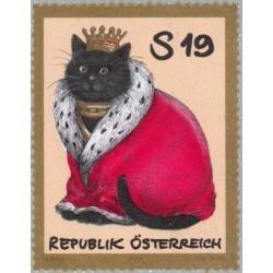 1 عدد تمبر حیوانات اهلی - اتریش 2001 قیمت 3.5 دلار