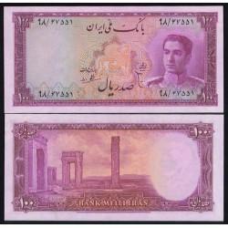 101 - جفت اسکناس 100 ریال ابوالحسن ابتهاج - علی بامداد 1327 - 1330