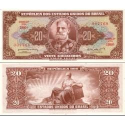 اسکناس 20 کروزرو  - برزیل 1962