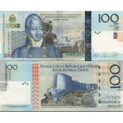 اسکناس 100 گوردس - هائیتی 2008
