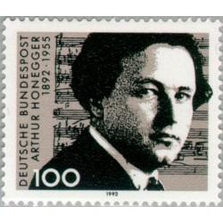 1 عدد تمبر 100مین سال تولد آتور هونگر - آهنگساز - جمهوری فدرال آلمان 1992