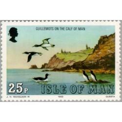 1 عدد تمبر سری پستی - مرغابیها -  جزیره من 1983 قیمت 1.8 دلار