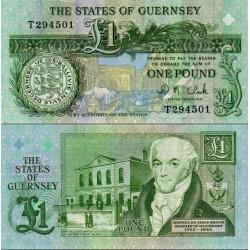 اسکناس 1 پوند - گورنزی 2009