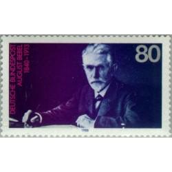 1 عدد تمبر یادبود آگوست ببل - سیاستمدار - جمهوری فدرال آلمان 1988