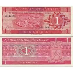 اسکناس 1 گولدن - آنتیلن هلند 1970
