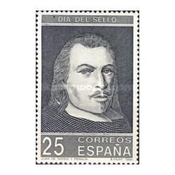 1 عدد تمبر روز تمبر - اسپانیا 1991