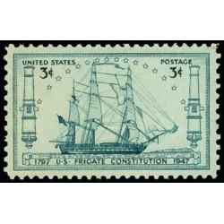 1 عدد تمبر 150مین سالگرد نظام نامه کشتی فرای گیت  - آمریکا 1947