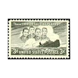 1 عدد تمبر چهار سرباز - آمریکا 1948