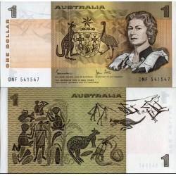 اسکناس 1 دلار - استرالیا 1982