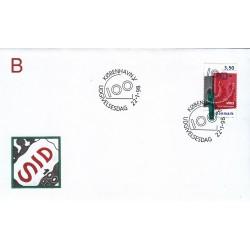 پاکت مهر روز شماره 50 - دانمارک 1998