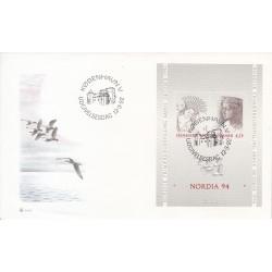 پاکت مهر روز شماره 51 - دانمارک 1992