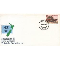 پاکت مهر روز شماره 54 - نیوزلند 1985