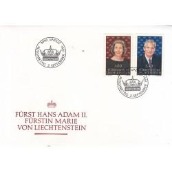 پاکت مهر روز شماره 57 - لیختنشتاین 1991
