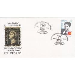 پاکت مهر روز شماره 63 - اسپانیا 2000