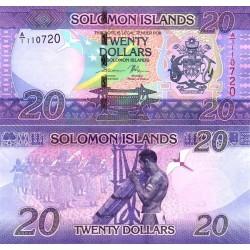 اسکناس 20 دلار - جزایر سلیمان 2017