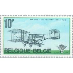 1 عدد تمبر باشگاه پروازی پیشکسوتان - بلژیک 1973