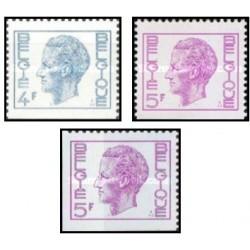 3 عدد تمبر سری پستی از بوکلت - بلژیک 1973 قیمت 4.6 دلار