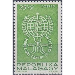 1 عدد تمبر ریشه کنی مالاریا - ماداگاسکار 1962
