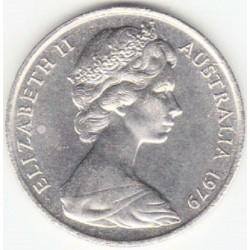 سکه 20 سنت نیکل مس - استرالیا 1979 غیر بانکی