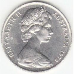 سکه 20 سنت نیکل مس - استرالیا 1967 غیر بانکی