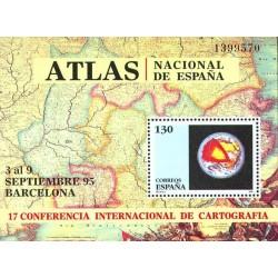 سونیرشیت کنفرانس بین المللی نقشه کشی - کارتوگرافی - اسپانیا 1995