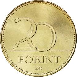 سکه 20 فورینت - مس نیکل روی - مجارستان 1992غیر بانکی