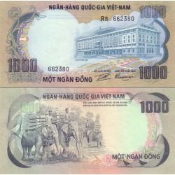 اسکناس 1000 دونگ  - ویتنام جنوبی 1972 - ویتنام 1972