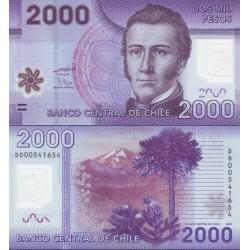 اسکناس پلیمر 2000 اسکودو - شیلی 2009